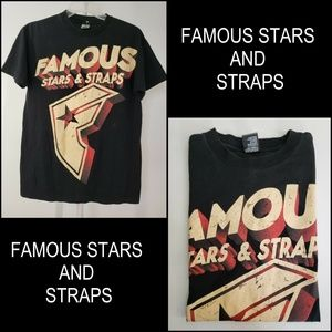 Famous Stars & Straps Short Sleeve Graphic T shirt